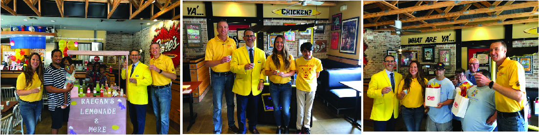 Lemonade Stands at Raising Cane's