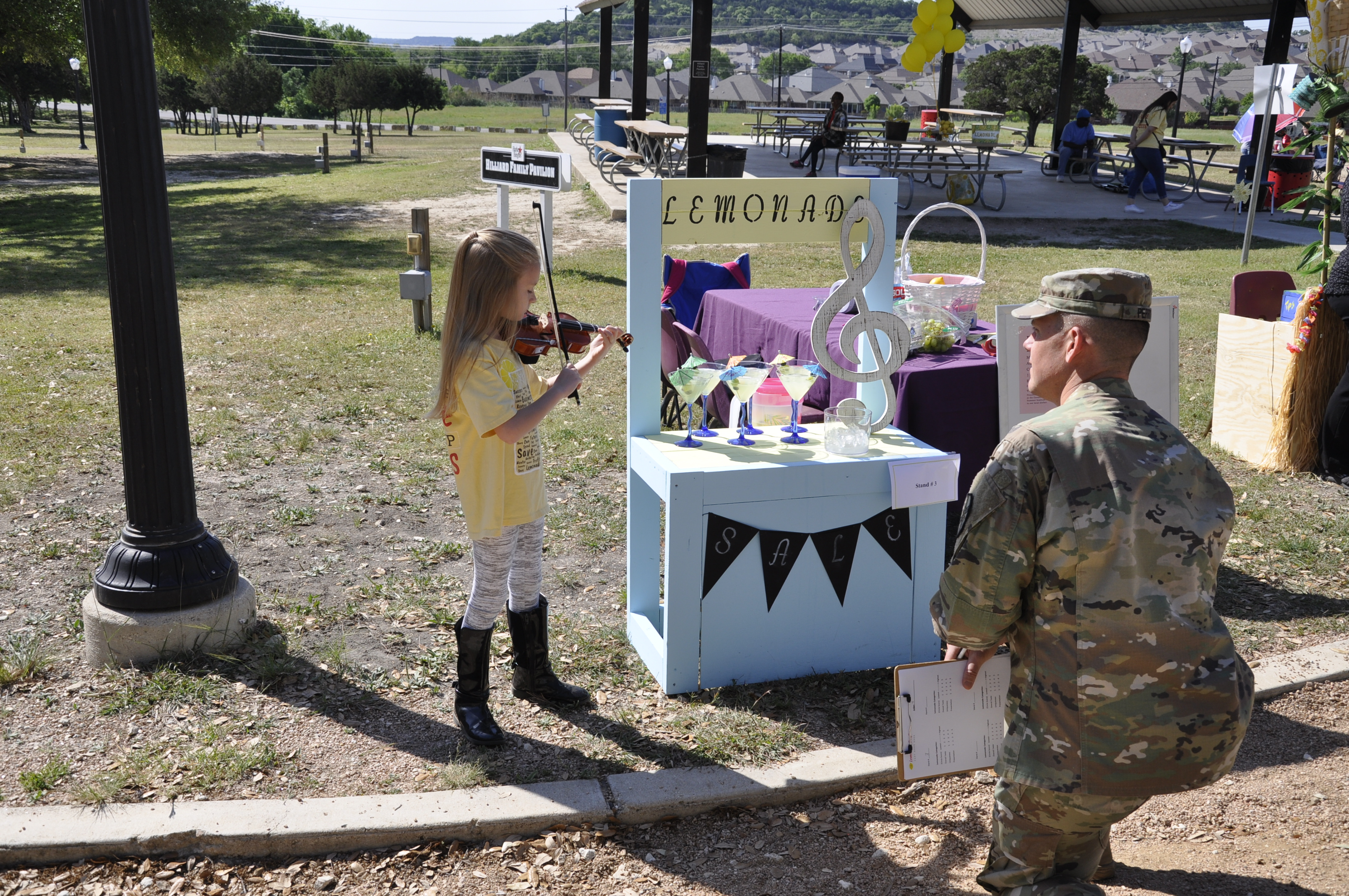 Fort Hood Lemonade Day