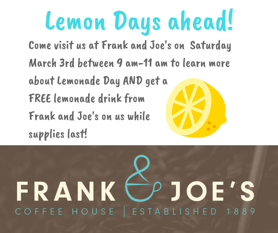 Frank & Joe's Lemon Day