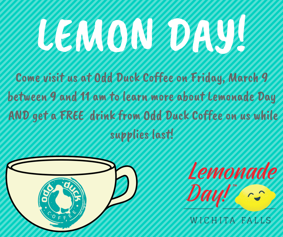 Lemon Day Odd Duck