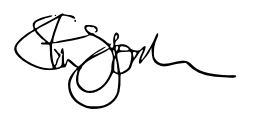 Steven Gordon Signature