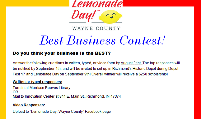 Best Business Contest