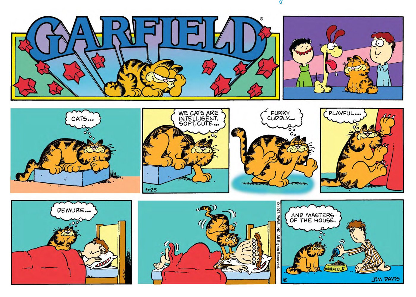 Surviving Monday Best Business Advice From Garfield Comics Lemonade Day