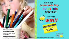 Enter to Win Lemonade Day Colouring Contest