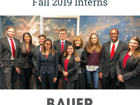 2019 UH Bauer Fall Interns