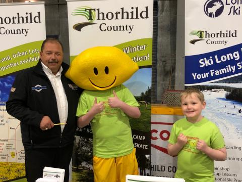 Thank you Thorhild County for participating in Lemonade Day Northwest Alberta